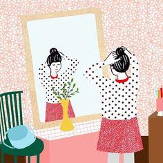 Another lovely illustration by @monann_illustration. #manondejong