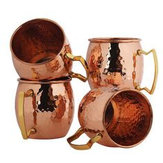 As any true Moscow Mule lover knows, providing the proper copper glassware is absolutely essential to the entire sipping experience. Pick your favorite mug from these expert finds, then just add your favorite vodka, ginger beer, and lime. Get ready for the good times!