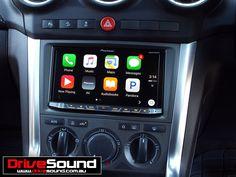 Holden Captiva with Apple CarPlay installed by DriveSound.