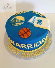 Elegant Photo of Warriors Birthday Cake . Cupcake Birthday Cake, Cupcake Cakes, Stephen Curry Cake, Stephen Curry Birthday, Golden Birthday, 10th Birthday, Birthday Ideas, Basketball Birthday, Basketball Cakes