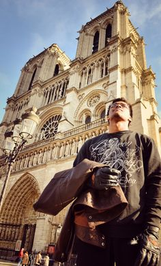 ByronWulfRai in france Paris  Notre dame Reality Tv Stars, Disneyland Trip, Bodybuilder, Paris France, Notre Dame, Actors, Explore, Adventure, Travel