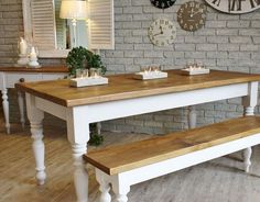 15 Narrow Dining Tables for Small Spaces (Gallery Ideas) Long Narrow Dining Table, Small Kitchen Tables, Table For Small Space, Small Spaces, Small Kitchens, Small Tables, Farmhouse Kitchen Inspiration, Farmhouse Kitchen Tables, Farmhouse Style