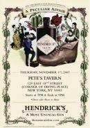 Gin Hendricks 44º - Disponível em www.estadoliquido.pt
