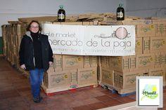 La Asociación El Mandil de Gredos en la Almazara de Arenas de San Pedro con el aceite donado