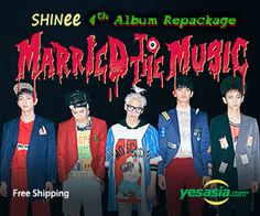 #SHINee Vol. 4 Repackage - Married To The Music #kpop