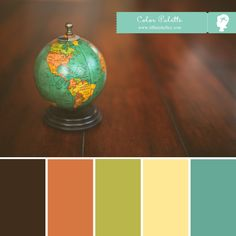 old globe colors