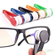 Mini Portable Glasses Eyeglasses Sunglasses Spectacles Microfiber Cleaner Brush  #equipment #mens #excellent #womens #GPS #prices #service #Fashions #automotive #sporting  automotive print,automotive products,automotive cleaning  #entertainment #food #drink #gardening #geek #hair #beauty #health #fitness #history