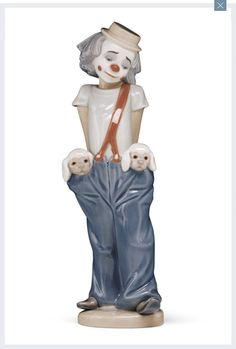 lladro Eve loves her Clowns..........