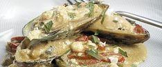 Μύδια Σαγανάκι Camembert Cheese, Potato Salad, Potatoes, Meat, Chicken, Ethnic Recipes, Food, Potato, Essen