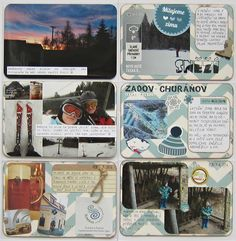 7. týden 2014 - 3. strana Life Page, Project Life, 3, Scrapbook, Projects, Design, Log Projects, Blue Prints, Scrapbooks