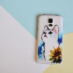 WATERCOLOR KITTY  PHONE CASE