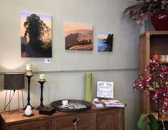 My limited edition fine art giclee prints showing at Flower Power in Point Reyes Station! Point Reyes, Point Reyes Station, California, Northern California landscape painting, Marin County, Marin County Landscape painting, California landscape, California landscape painting, landscape painting, landscape, oil painting, painting, original oil painting, fine art, California rolling hills, Mother's Day, Mother's Day gifts, home decor, interior design, art collector, Terry Sauvé, terrysauve.com