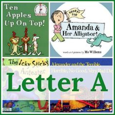 Looking for a letter of the week book list to go along with your alphabet activities! Check out this giant resource. It's our favorite books for every letter!