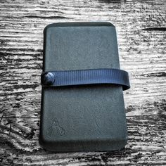 The Vita Travel Wallet is the convenient, classy, and rugged carry solution for storing your bigger stationary products.  The Vita Travel allows you to carry a Field Notes notebook, a passport, a boarding pass, a check book, or whatever else you need to jam in there on the go.  The Vita Travel Wallet comes with the same bombproof Pull-The-Dot snap that comes on our popular Vita EDC Wallet, to ensure that your valuables remain safely in place.  The strap, which doubles as a pen loop, also ...