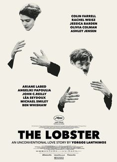 The Lobster, 2015_The Chicest Movie Posters of All Time