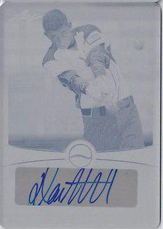 DANE MCFARLAND 2013 Leaf Power Showcase Autograph Rookie Auto Plate RC 1/1