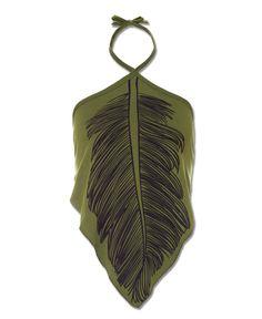 Leaf Halter Top
