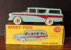Vintage Dinky Toy Nash Rambler by AnniesAtticFinds on Etsy, $150.00
