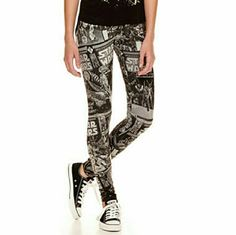 Star wars graphic leggings Brand new Star Wars graphic / comic book style…