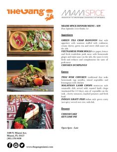THE GANG RESTAURANT & LOUNGE 3500 N. MIAMI AVE. MIAMI FL. 33127 - T:305.570 9430 thegangmiami.com/ The Gang Celebrates Life,People, Culture and Flavor.