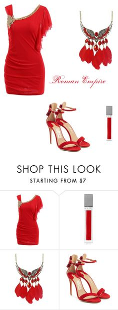 """""""Roman Empire"""" by amber-jewel2000 ❤ liked on Polyvore featuring Sisley and Salvatore Ferragamo"""
