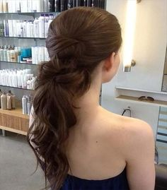 Diverse Homecoming Hairstyles for Short, Medium and Long Hair hair I added a hair extension to create this long formal pony tailhair I added a hair extension to create this long formal pony tail Prom Hairstyles For Long Hair, Prom Hair Updo, Homecoming Hairstyles, 2015 Hairstyles, Ponytail Hairstyles, Pretty Hairstyles, Formal Hairstyles, Updos, Bridesmaid Ponytail
