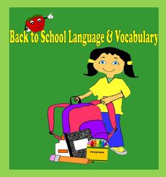 Back to school language and vocabulary bundle. http://www.teacherspayteachers.com/Product/Back-to-School-Language-and-Vocabulary-Bundle-1332908