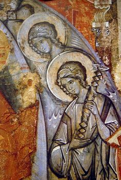 View album on Yandex. Byzantine Art, Byzantine Icons, Fresco, Order Of Angels, Tempera, Like Icon, Russian Icons, Best Icons, Art Icon