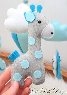 Best Indoor Garden Ideas for 2020 - Modern Felt Crafts Diy, Baby Crafts, Felt Animal Patterns, Shower Bebe, Baby Sewing Projects, Best Baby Shower Gifts, Felt Baby, Felt Decorations, Sewing Toys