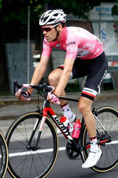 Dutch cyclist Tom Dumoulin of Sunweb rides at the start of the 13th stage of the 100th Giro d'Italia Tour of Italy cycling race from Reggio Emilia to...