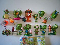 Kinder Surprise Set  Super Spacy Alien Green by KinderSurpriseToys