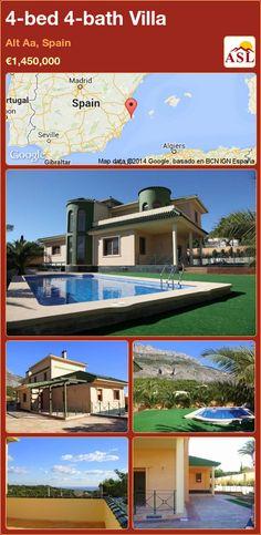 4-bed 4-bath Villa in Alt Aa, Spain ►€1,450,000 #PropertyForSaleInSpain