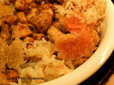 Sweet Posy Dreams: Chicken Palaw to Fill a Bare Table