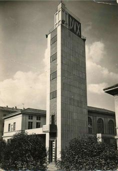 Imponente Torre Littoria a Biella in  Via Pietro Micca
