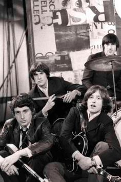 The Kinks - now I just need to find a youtube video of You Really Got Me to pin!