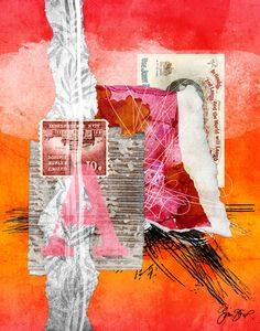 LostMail by Gina Startup #collage #art