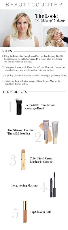How easy is this?!  Five minutes to flawless ;) #beautycounter #betterbeauty