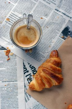 "Croissant recipe | @yaansoon says: ""Love the photography and the food styling!"""