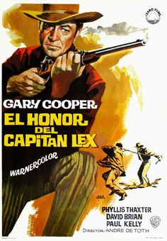 SPRINGFIELD RIFLE (1952) - Gary Cooper - Phyliss Thaxter - David Brian - Paul Kelly - Directed by Andre de Toth - Warner Bros. - Movie Poster.