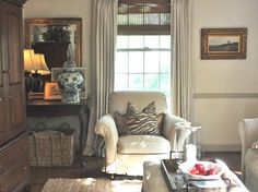 NINE + SIXTEEN: Cozying Up Our Family Room For Fall