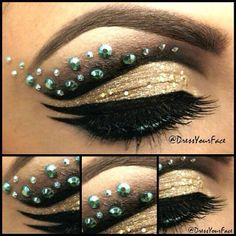 "Bejeweled Mermaid"" makeup and concept  @Crystal Lopez"
