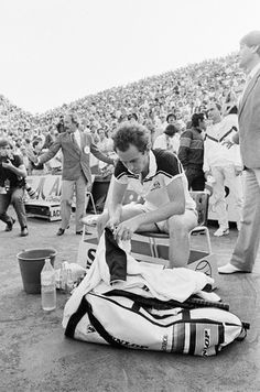 McEnroe. French Open. #tennis #Dunlop