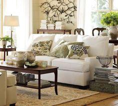 Popular Pottery Barn Living Room Decorating Ideas