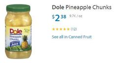 Dole Jar Fruit only $1.38 each after Coupon and Savingstar Offer at Walmart! - http://www.couponaholic.net/2015/08/dole-jar-fruit-only-1-38-each-after-coupon-and-savingstar-offer-at-walmart/
