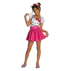 This is the Hello Kitty - Hello Kitty Tutu Dress Child Costume - 883028475261 at a cheap price. This costume which is 'Hello Kitty - Hello Kitty Tutu Dress. Costumes For Teenage Girl, Teenage Halloween Costumes, Costumes For Teens, Creative Halloween Costumes, Girl Costumes, Costume Ideas, Halloween Halloween, Halloween College, Trendy Halloween
