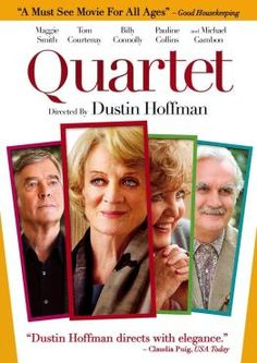 Quartet--This movie was wonderful! I really enjoyed everyone it. Sad, sweet, lovely! And plenty of sass! And if you are a fan of costume dramas, you will recognize quite a few faces.
