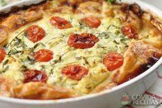 Receita de Quiche de legumes em receitas de tortas salgadas, veja essa e outras receitas aqui!