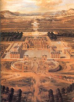 louis le vau | Louis Le Vau. The Palace of Versailles, France, ca. 1688.