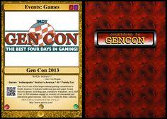 #0 Events: Games: Gen Con 2013