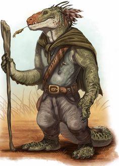 # Hertasi-kin; lizard folk